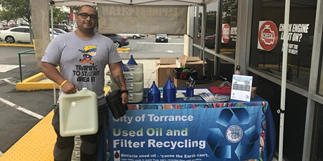 City of Torrance FREE Used Oil Filter Exchange @ AutoZone tickets