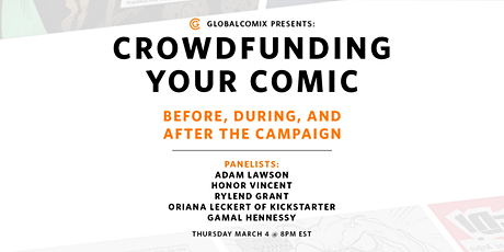Crowdfunding Your Comic: Before, During, and After the Campaign billets