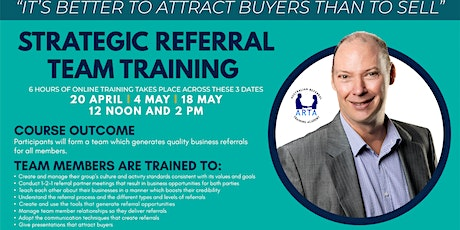 How to Maximise B2B Referrals to Grow and Scale Your Business tickets