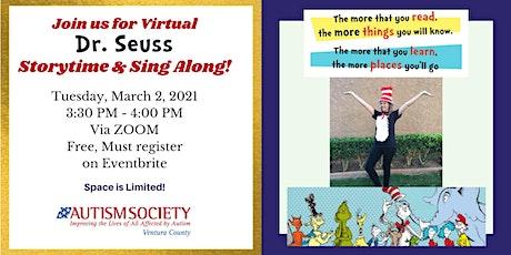 ASD Kids Virtual Storytime & Sing Along to Celebrate Dr. Seuss Day! tickets