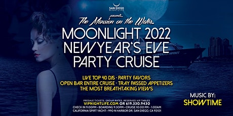 2022 San Diego New Year's Eve Party - Pier Pressure Moonlight Cruise tickets