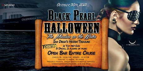 San Diego Halloween Yacht Party - The Black Pearl tickets