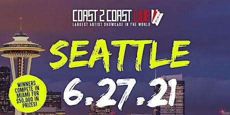 Coast 2 Coast LIVE Showcase Seattle - Artists Win $50K In Prizes tickets