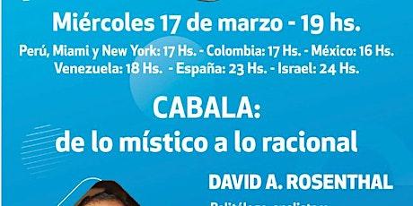 VIDEOCONFERENCIA CON DAVID ROSENTHAL DESDE COLOMBIA boletos