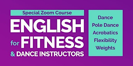 English for Dance and Fitness Instructors tickets