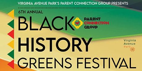 6th Annual Black History Greens Festival entradas