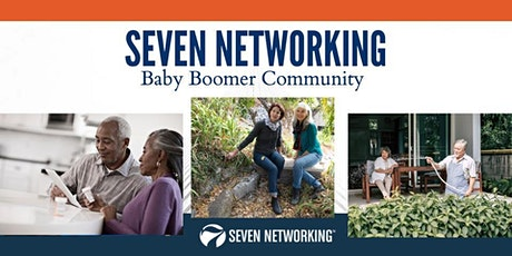 Baby Boomers Business Networking by SEVEN Networking tickets