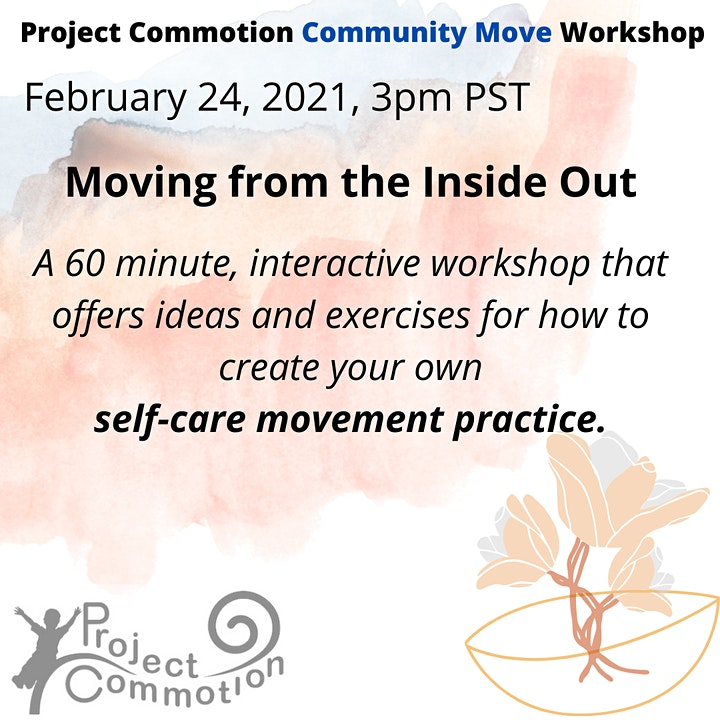 Moving From the Inside Out: A Project Commotion Community Move Workshop image