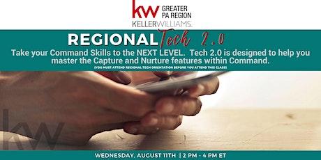Regional Tech 2.0 - August Tickets
