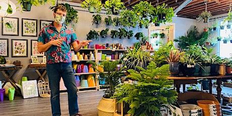 Houseplant Botany 101 at The Terrorium Shop tickets