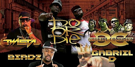 Twista, Do or Die, Crucial Conflict, Beadz Live in The Afterlife Music Hall tickets