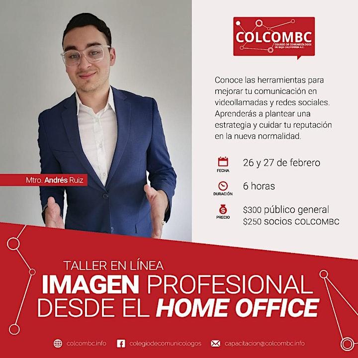 Imagen de Imagen profesional desde el home office
