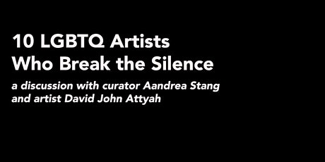 10 LGBTQ Artists Who Break the Silence tickets