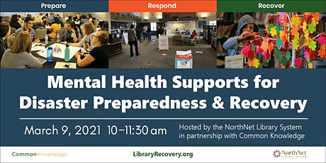 Mental Health Supports for Disaster Preparedness and Recovery tickets