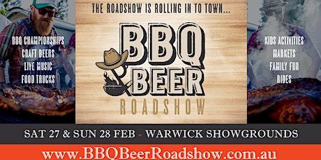 Warwick BBQ & Beer Roadshow tickets