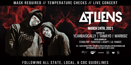 ATLiens Live at Myth Nightclub | Wednesday 3.24.2021 tickets