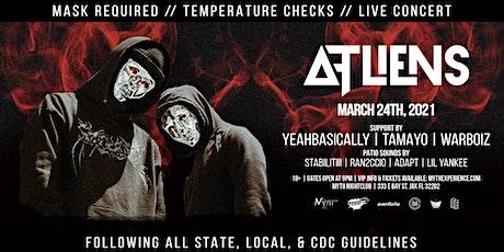 ATLiens Live at Myth Nightclub | Wednesday 3.24.2021 tickets