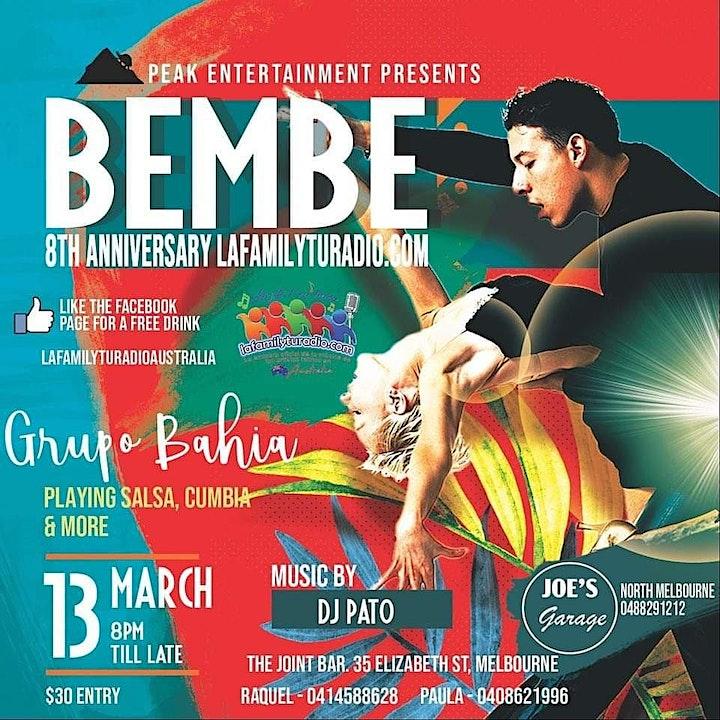 Bembé Latino La family tu radio's 8th anniversary image