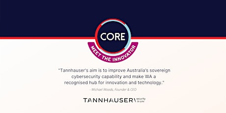 Meet the Innovator - Michael Woods, Tannhauser tickets