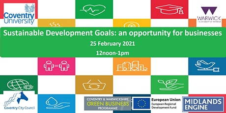 Sustainable Development Goals: an opportunity for businesses tickets