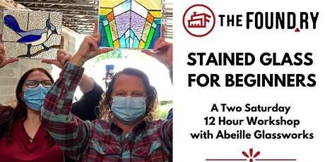Stained Glass for Beginners: A Two Saturday Workshop  in May tickets
