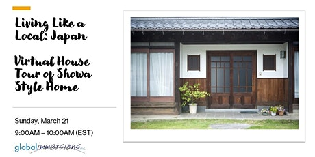 Living Like a Local:  Japan - House Tour of Showa Style Home tickets