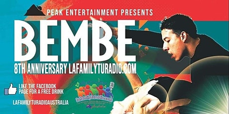 Bembé Latino La family tu radio's 8th anniversary tickets