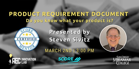 Product Requirement Document (PRD) with Steven Sivitz tickets