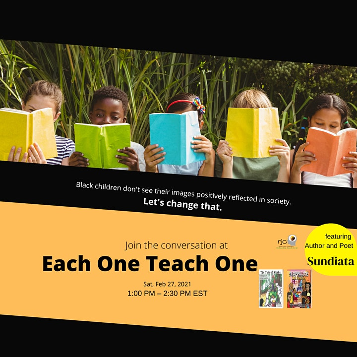 """Sharing the """"Black"""" Experience with children:  Each One Teach One image"""