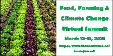Food for Thought: Food, Farming and Climate Change Virtual Summit tickets