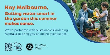 Water smart gardening tickets