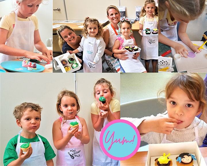 Cupcake Decorating Class - With Kelly & the Kids image