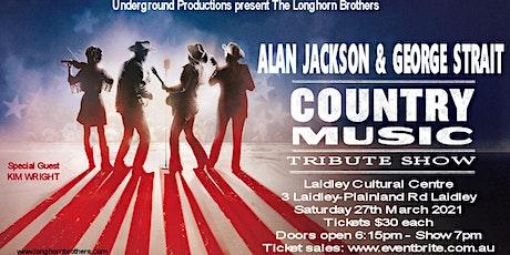 George Strait-Alan Jackson -Longhorn Brothers tickets