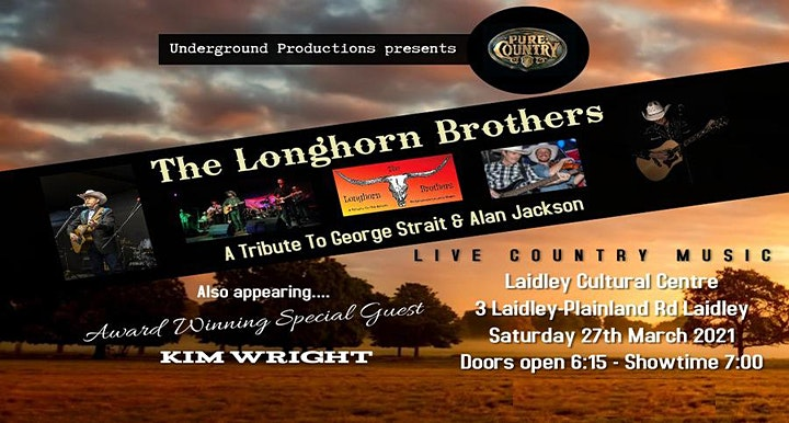 George Strait-Alan Jackson -Longhorn Brothers image