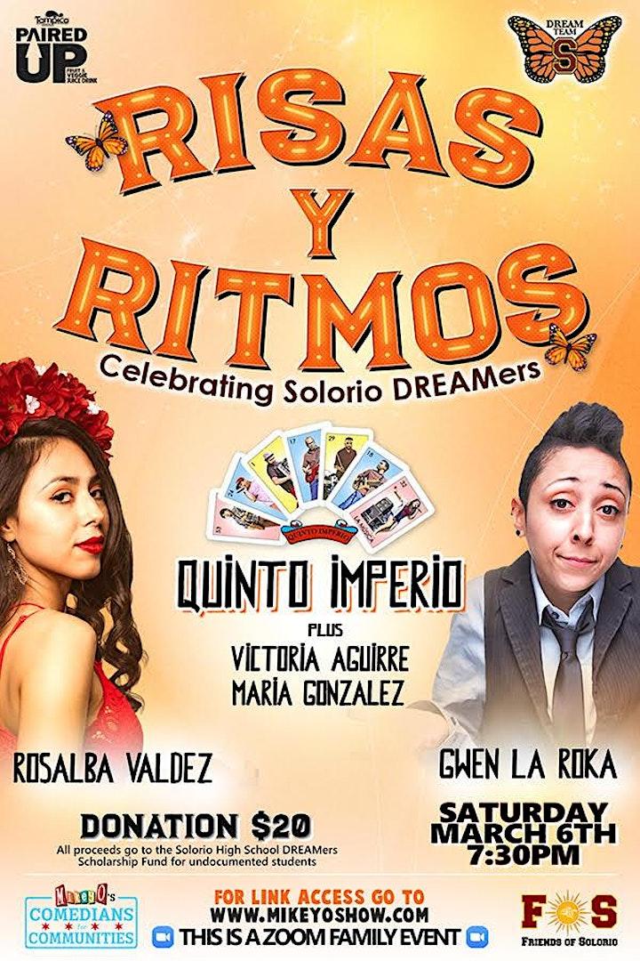 Risas y Ritmos, Celebrating Solorio DREAMers image