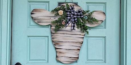Cow Head Door Hanger or Wall Decor DIY Workshop tickets