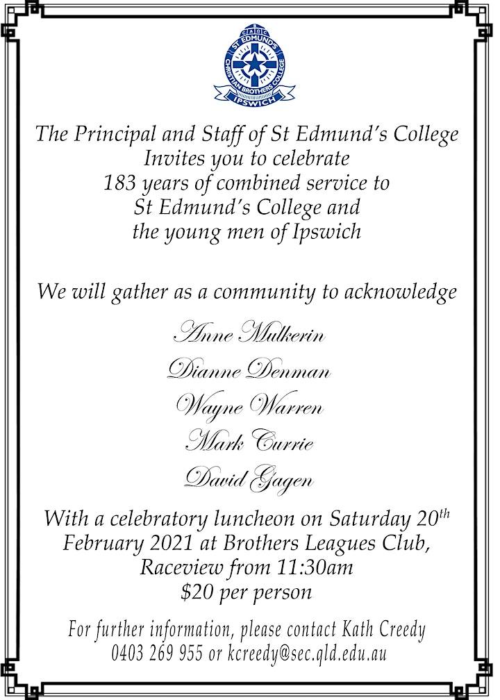 St Edmund's College Celebrates 183 Years of Service image