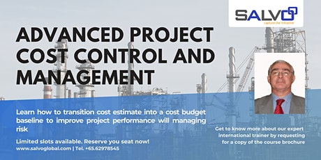Advanced Project Cost Control and Management tickets