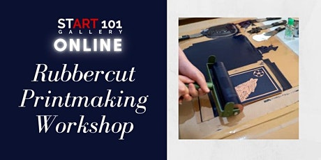Online Printmaking Workshop - Free Materials + Delivery tickets
