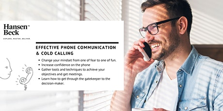 Customer Acquisition, Cold Calling and Improved Telephone Communication. tickets