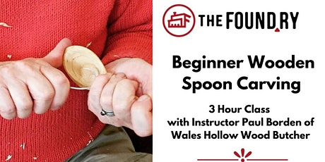 Beginner Wooden Spoon Carving Class - May tickets