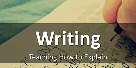Writing: Teaching How to Explain tickets