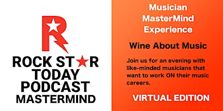Wine About Music: Musician MasterMind Experience tickets