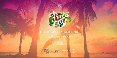 Puesta De Sol | Summer Beach Party | 28  February 2021 tickets