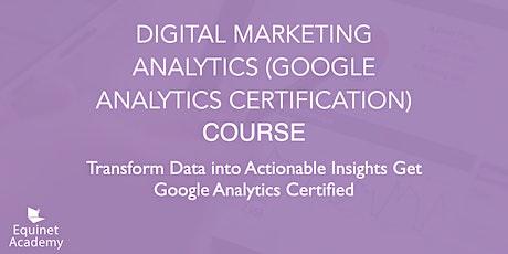 WSQ Digital Marketing Analytics (Google Analytics) Course tickets