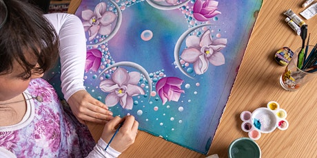 Mandala painting weekend workshop tickets