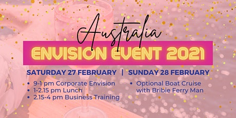 Envision Event 2021 - Bribie Island Saturday 27 February tickets