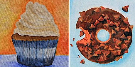 Food paint edible art- Acrylics with Jen Livia tickets