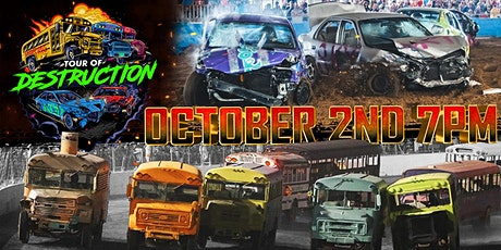 TOUR OF DESTRUCTION - HICKORY MOTOR SPEEDWAY tickets