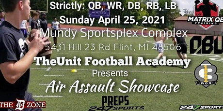 Air Assault Showcase --- Strictly QB, WR, DB, RB, LB tickets